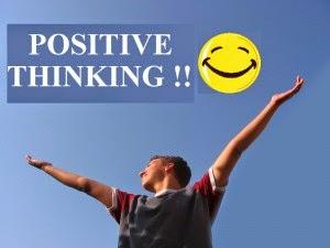 Menghilangkan stres dengan berpikiran positif