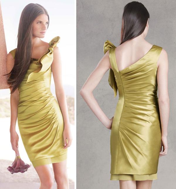 fashion and stylish dresses blog vera wang bridesmaid