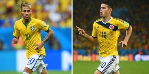 Brasil vs Kolombia