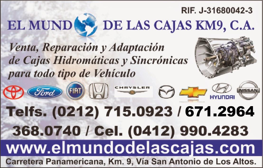 El MUNDO DE LAS CAJAS KM9, C.A. en Paginas Amarillas tu guia Comercial