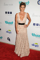 Charisma Carpenter posing on the red carpet