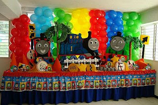 Thomas and Friends Children Parties Decoration