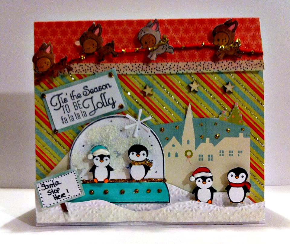 Kraftin Kimmie Stamps 2016 DEC Kard Kit Fun