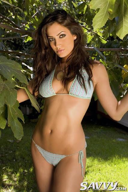 Donna Feldman sexy underwear