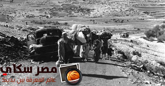 حرب فلسطين 1948 م وأهم الأسباب التى أدت إليها