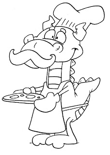 dudley the dragon coloring pages - photo#16