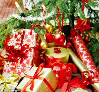 presentes de árvores de natal