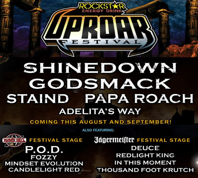 Prepare yourself for the return of Uproar Festival!