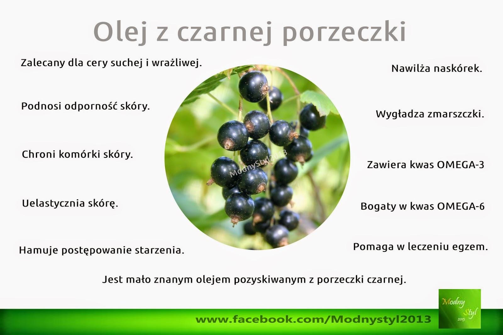 Olej z czarnej porzeczki