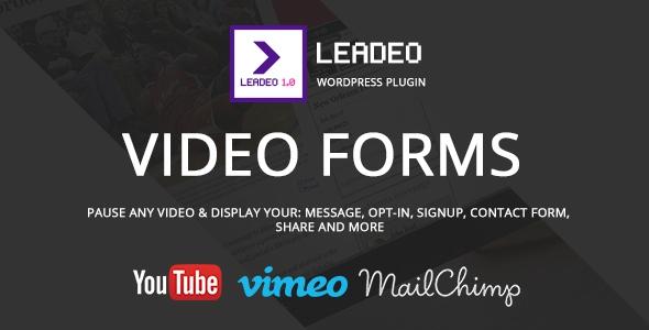 Leadeo v1.5.1 – WordPress Plugin for Video Marketing