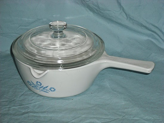 Pan /& Lid Corning Menu-ette Heat Proof Glass Microwave Skillet Pick 1