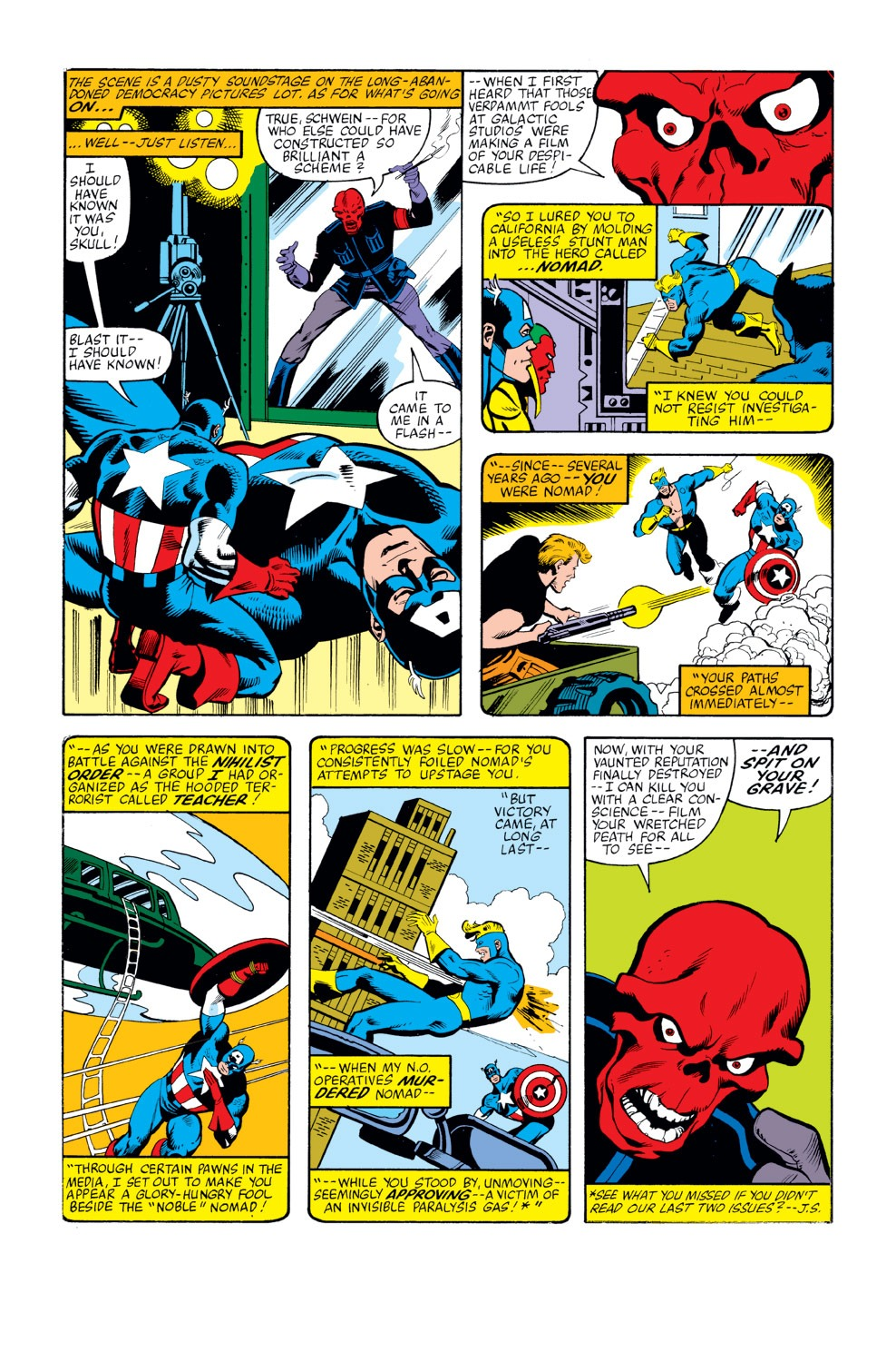 Captain America (1968) Issue #263 #178 - English 3
