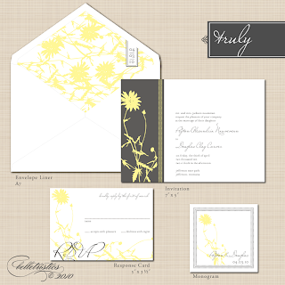 diy printable vintage floral wedding invitation
