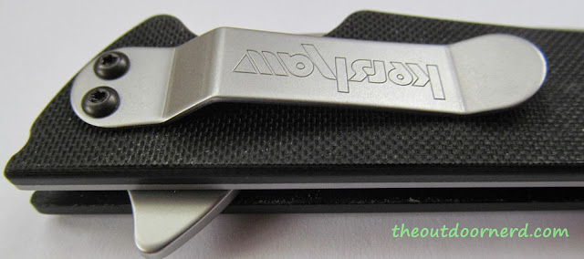 Kershaw Skyline Pocket Knife - Closeup Of Clip 3