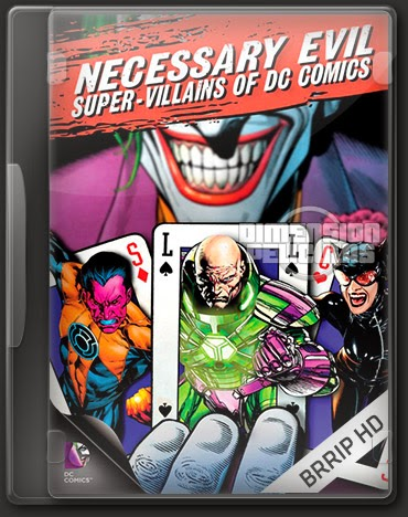 Necessary Evil Super-Villains Of DC Comics (BRRip HD Ingles Subtitulada) (2013)