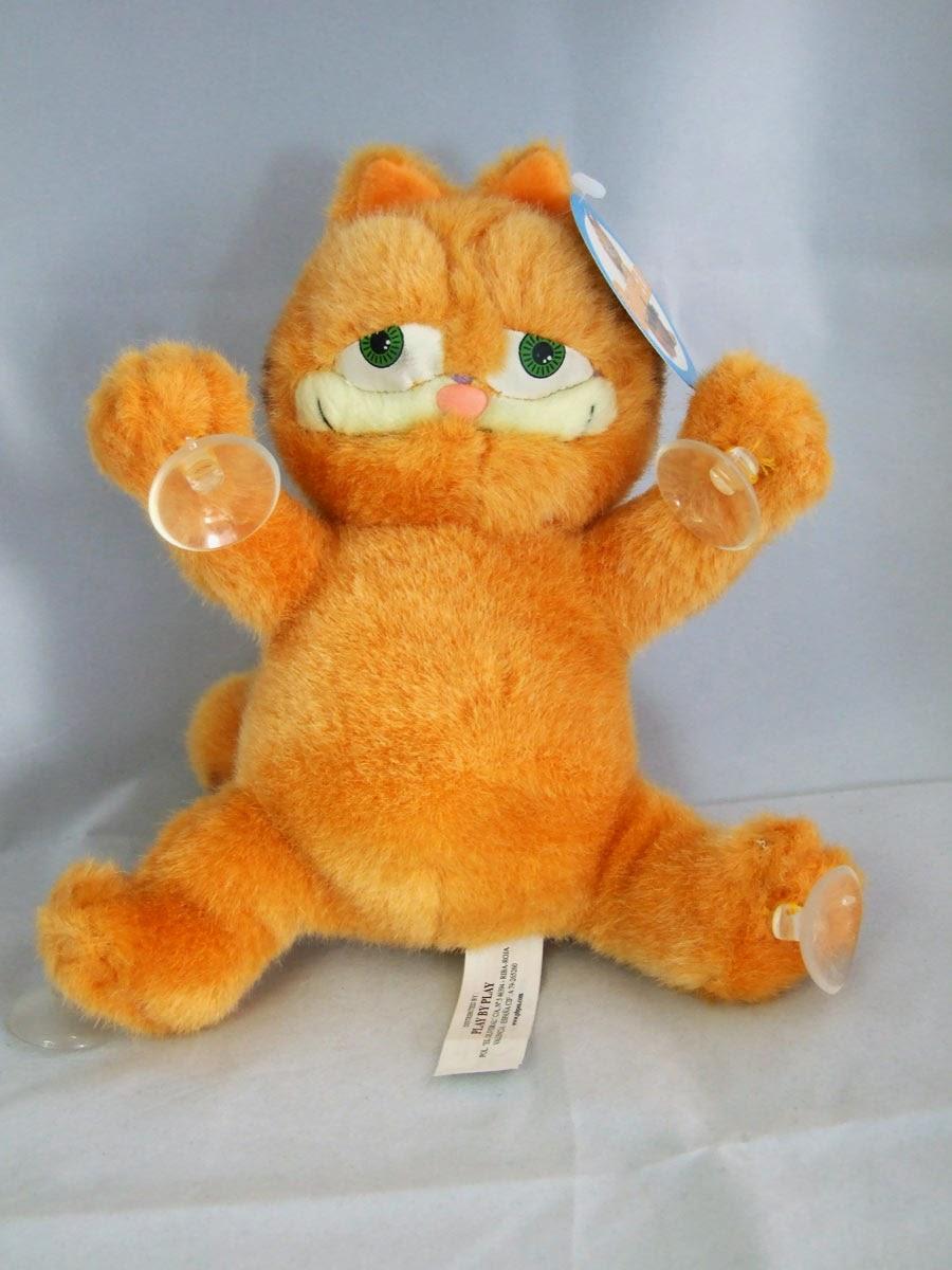 Peluche Garfield con ventosa versión película