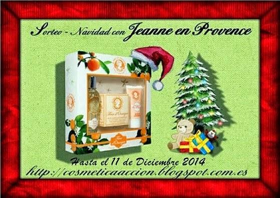 Sorteo Navidad Jeanne en Provence