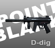 Senjata MP5K Ext. Point Blank - PB