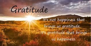 Gratitude/Happiness