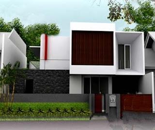 model atap rumah minimalis datar