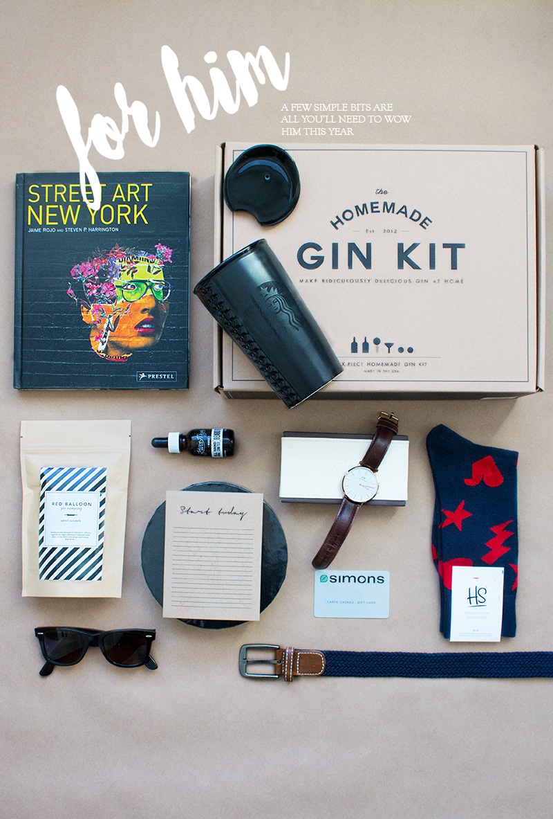 Holiday gift ideas for him via Adventures in Fashion