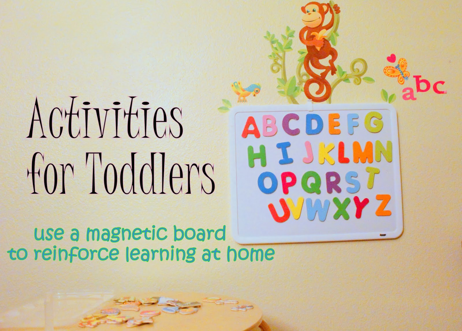 Magnet Board Can Reinforce Learning at Home for Kids