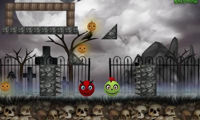 Cut And Kill Halloween walkthrough.
