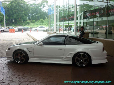 180SX with S15 Front End Conversion