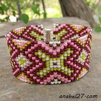 схемы бисероплетение ткачество фенечки bead loom pattern bracelet