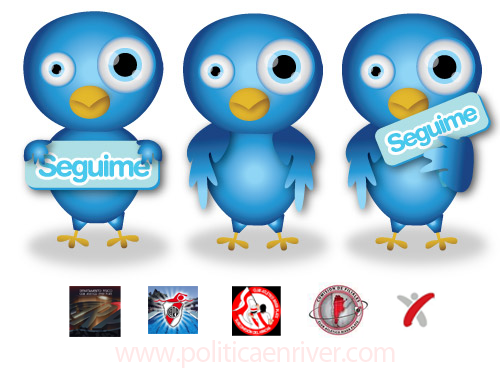 River Plate, Twitter, River Twitter, Cuentas oficiales,