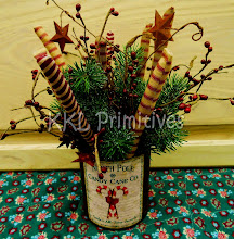 PEPPERMINT CANDY STICKS CENTERPIECE