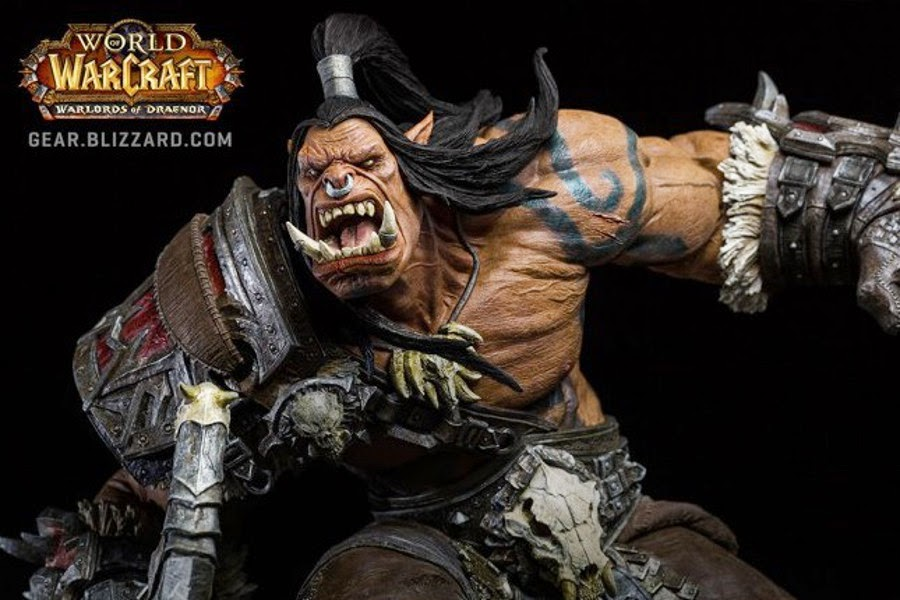 Da World of Warcraft arriva Grommash Hellscream