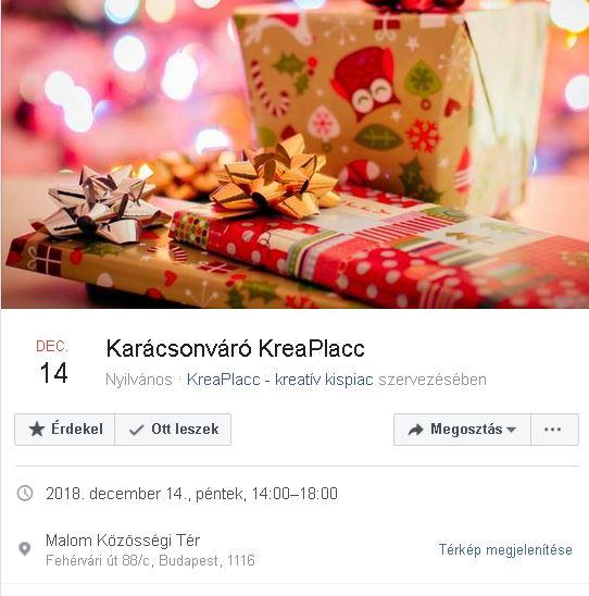 Karácsonyváró KreaPlacc
