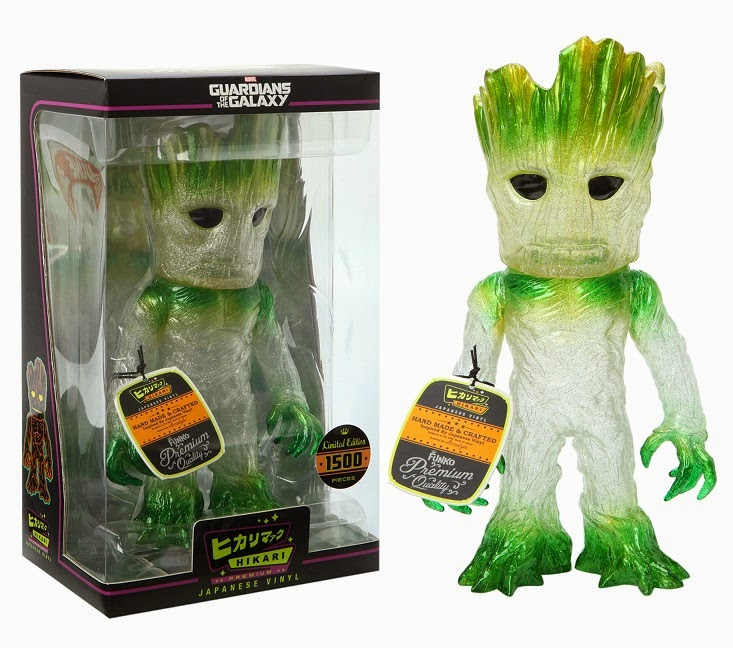 "Hot Topic Exclusive ""Regeneration"" Groot Marvel's Guardians of the Galaxy Hikari Vinyl Figure by Funko"