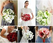 Ramos de novia de amaryllis / Amaryllis wedding bouquets