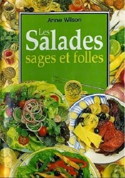 مجموعة من الكتب المتنوعة الخاصّة بالسّلطات و المقبلات Anne+Wilson+-+Les+salades+sages+et+foles