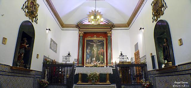 Interior de la Ermita de Chircales