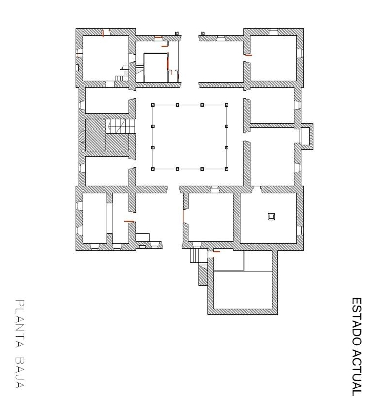 Patrimonio arquitect nico de asturias palacio de la torre - Plantas para patio ...