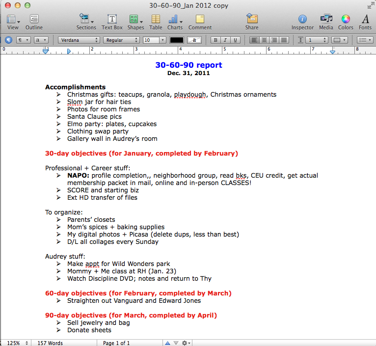 30 60 90 day sales plan outline