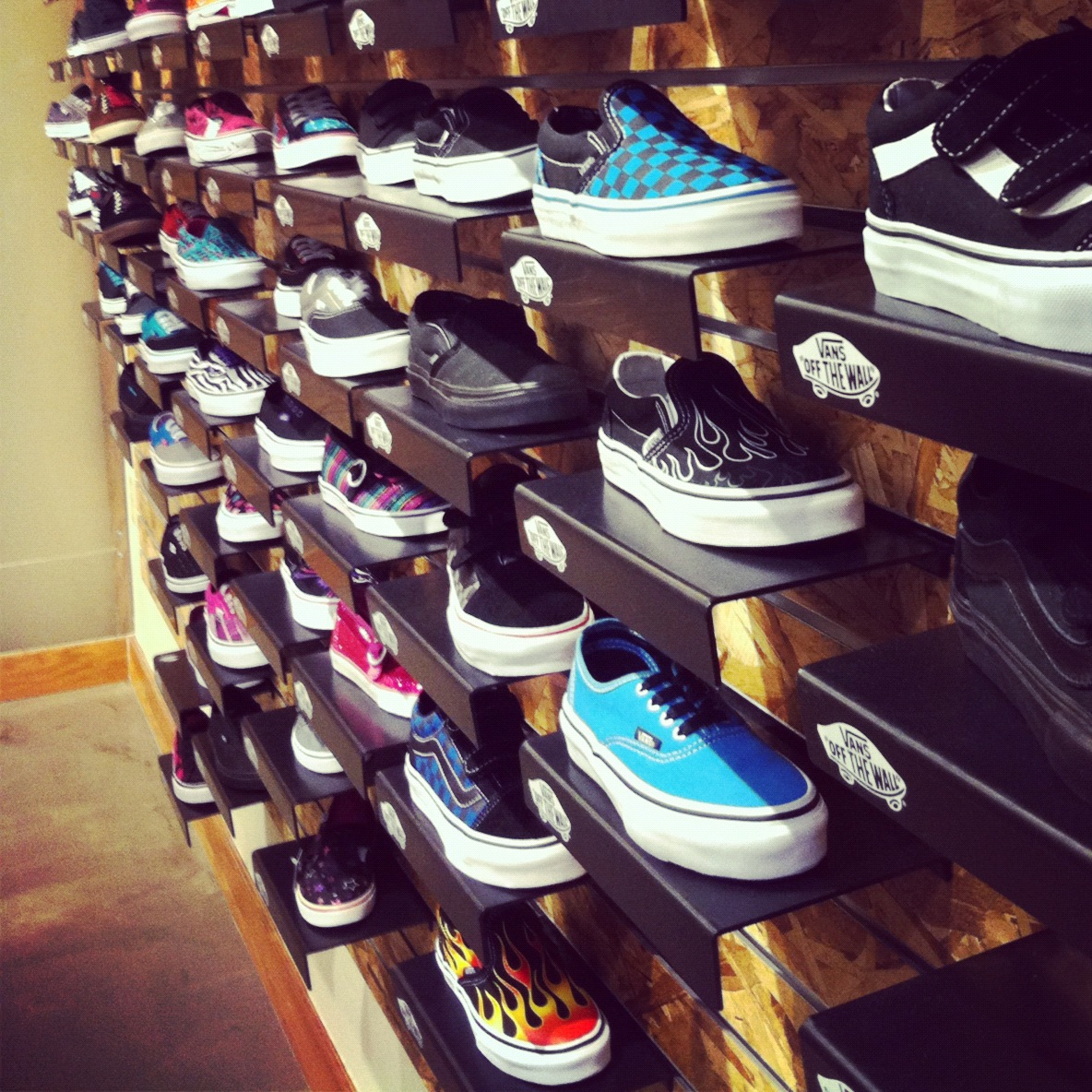all vans shoes ever made