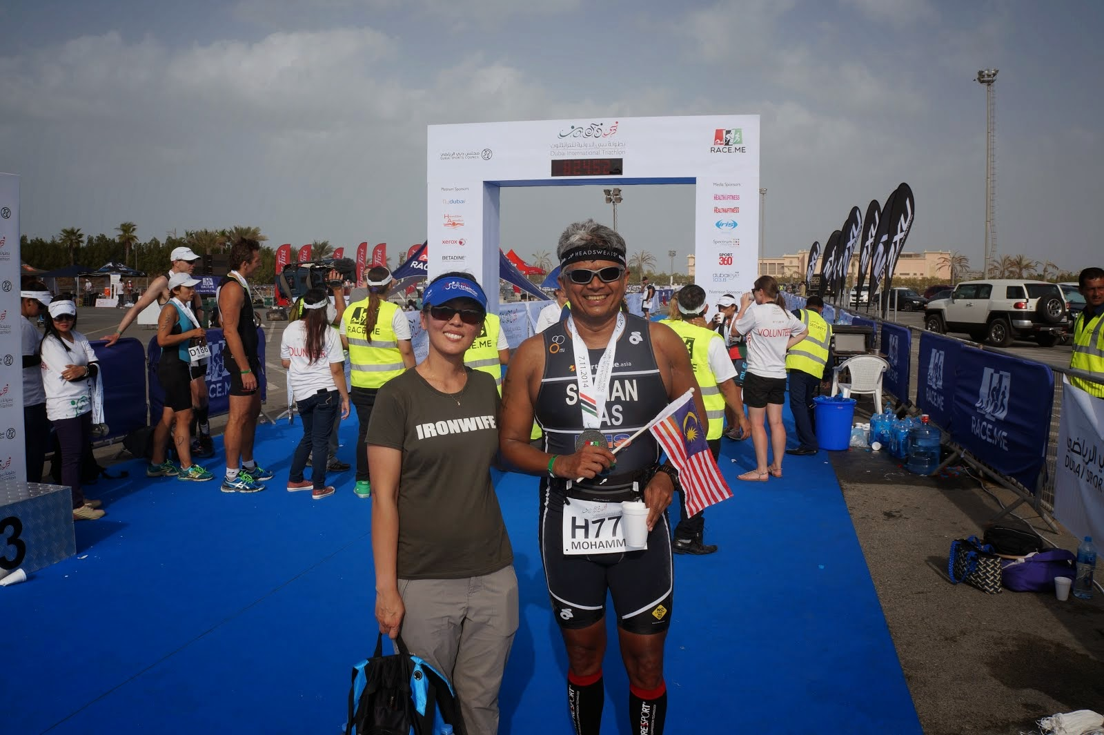 Dubai International Triathlon Report 7 Nov 2014