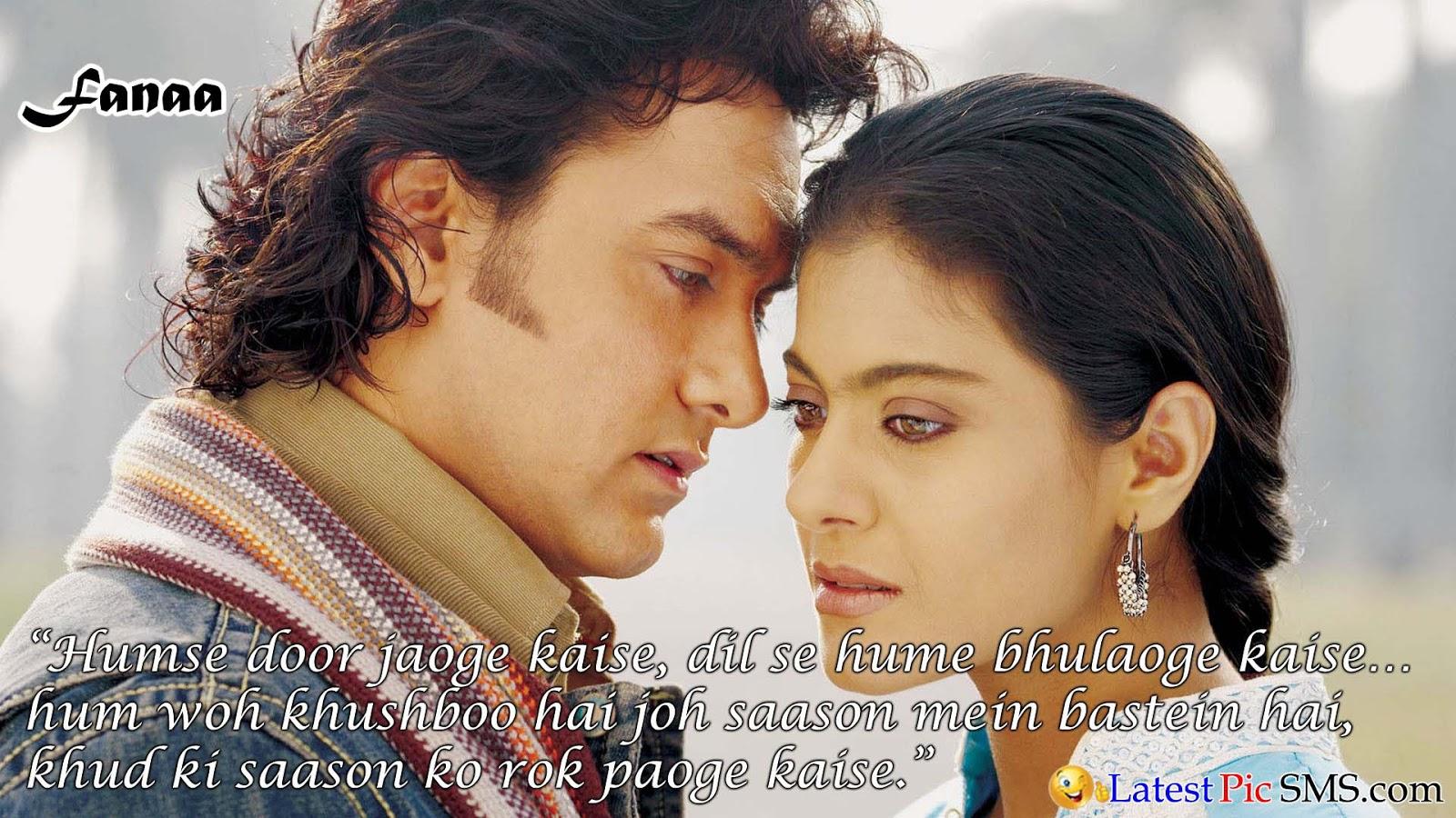 Fanna amir Bollywood Dialogues