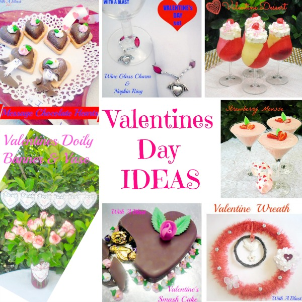 Valentines Day Ideas { 2015 } ~ Ideas for Valentines Day including decor, recipes, DIY's, smaller crafts and special chocolate treats for that someone special !