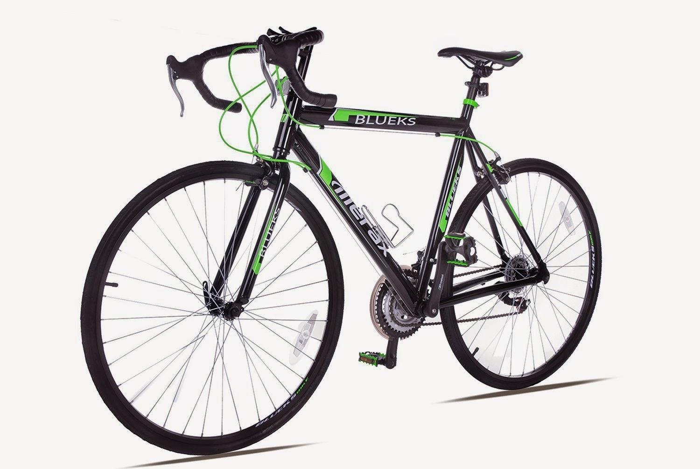 Exercise Bike Zone Merax Blueks 21 Speed 700c Aluminum