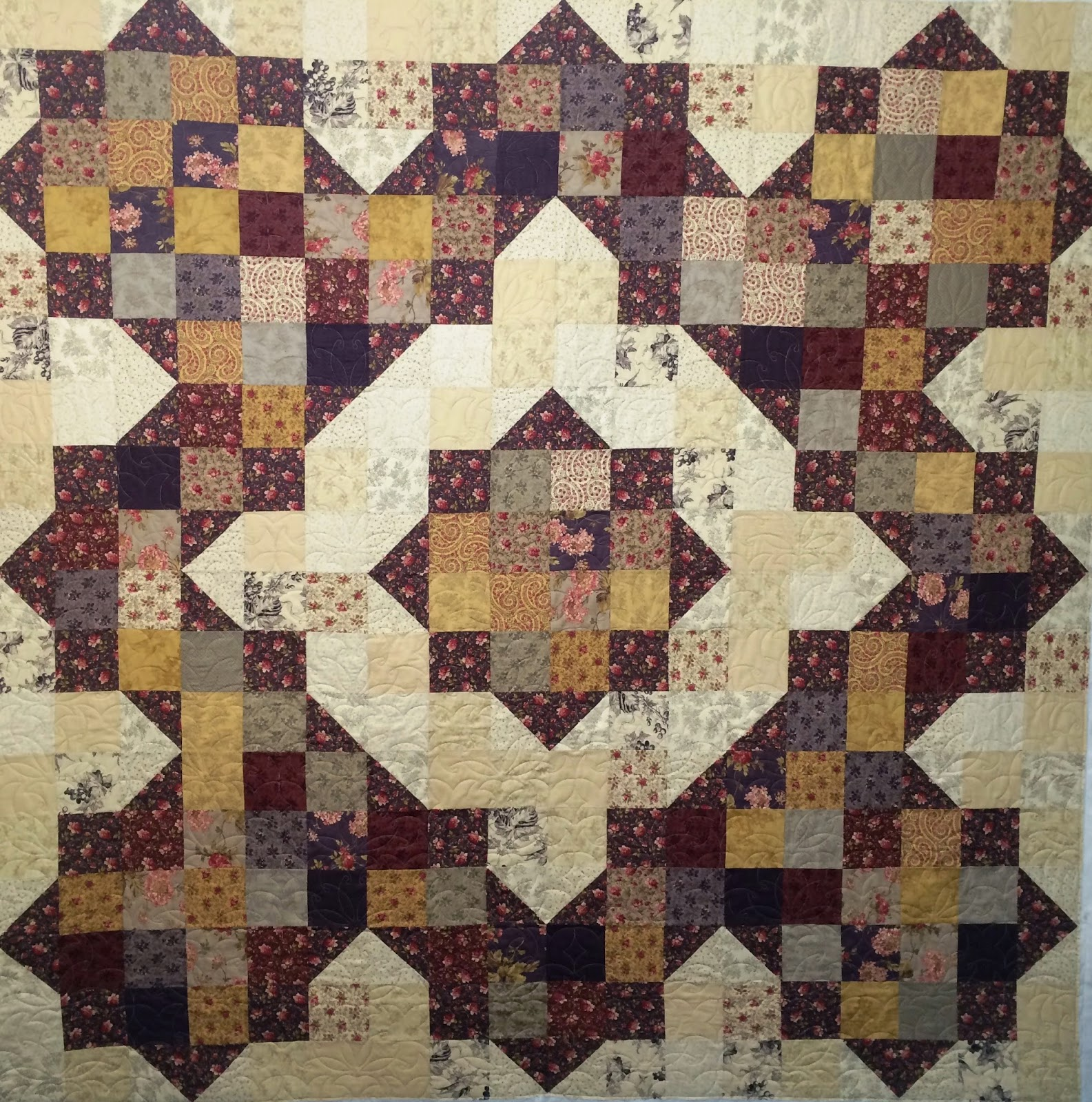 Carolyn Rucker's Marmalade Cake Quilt
