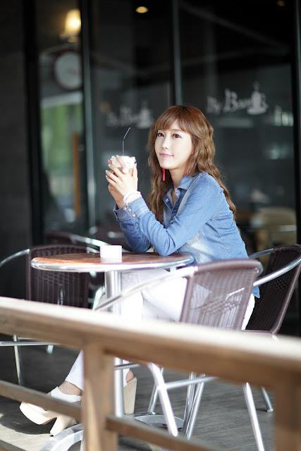 6 Im Min Young - Casual Outdoor-very cute asian girl-girlcute4u.blogspot.com