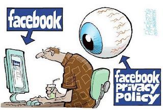 ilustrasi gambar efek facebookan tiap hari