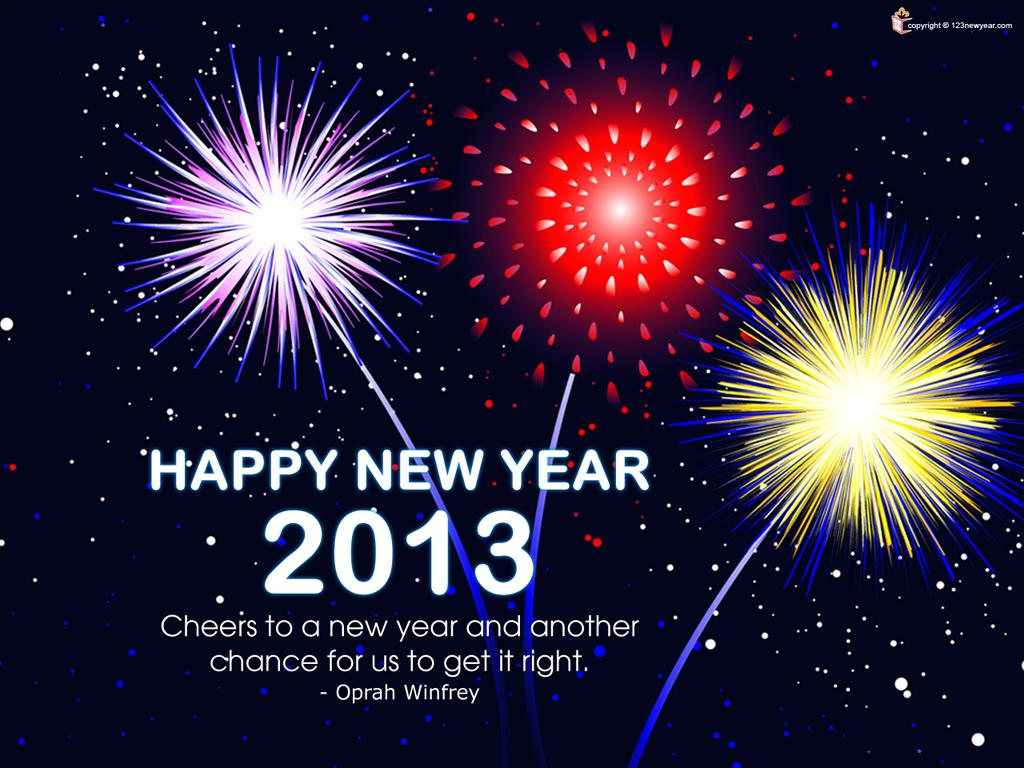 happy new year: