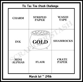 March Tic Tac Toe Stash Challenge