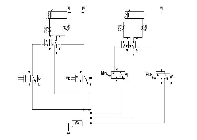 Circuito Neumatico Simple : Circuitos de fluidos suspensiÓn y direcciÓn